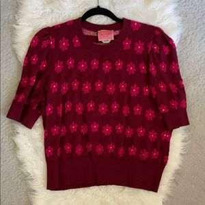 Kate Spade floral sweater.